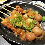 四国郷土活性化 藁家88 - みつ味噌牛どて焼串