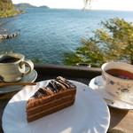 シャーレ水ヶ浜 - 珈琲・紅茶・チョコケーキ