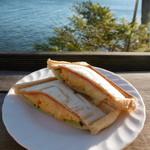 シャーレ水ヶ浜 - ホットサンド