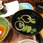 赤玉寿司 - 吸い物