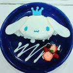 シナモロールカフェ 新宿店 - シナモンのスペシャルショートケーキ