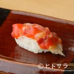 鮨 歴々 - コリコリとした歯ごたえを堪能『赤西貝(七尾石崎)』