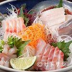 魚河岸割烹さかなや千本一 - 調理長おまかせの地魚お刺身盛り