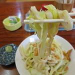 羅王 - 吉田うどんの縮れ麺(笑)