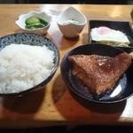 さかい - 日替りランチの一つ、赤魚の煮付@600円