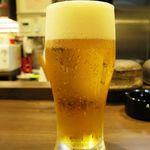 裏天満 こばち屋 - ランチビール 200円 香るエール、旨しっ(≧∇≦)b