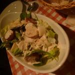 66397832 - ヤシの新芽「パルミット」のグリーンサラダ