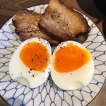 豚星 - ベーコンと半熟卵