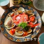 がじゅまる食堂 - 決め手は昆布だし! 深みのある味わいを堪能できる『和風アクアパッツア』