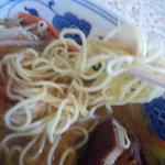 上海家庭料理 謝謝 - 豚の角煮野菜めん②