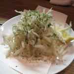 漁師小屋 番屋 - 白魚の天ぷら