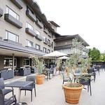 グランドホテル 六甲スカイヴィラ - レストランのテラス