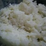 牛たん にし - 麦飯 混ざってない
