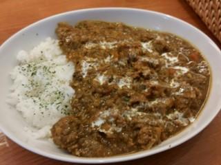 cafe VAN 新橋5丁目店 - キーマカレー、850円。