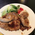 抱梅 - 生姜焼き定食