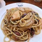 パンコントマテ - ホタルイカとタケノコのスパゲッティー