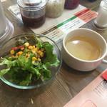 トゥッカーノグリル&バー - サラダ&スープ