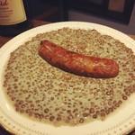 ピノコ - ソーセージとレンズ豆