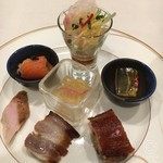 Ginzahouen - 前菜盛り合わせ