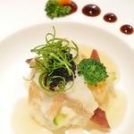 SUN TUNG LOK CHINESE CUISINE - 黑魚籽豆腐蓉蒸星斑球