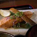米蔵 - 2011.1.29 ランチの鮭バター焼き