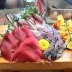 一福鮨 - 私の定番の、赤身とアジと玉子