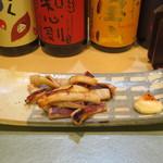 鮨國 - ヤリイカ漁師焼き