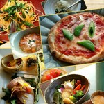 Ristrante Pizzeria 仁木家 - 料理写真:料理①