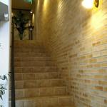Ristrante Pizzeria 仁木家 - お店への階段♪おしゃれで独特の雰囲気があります。