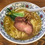 まるえ食堂 - 料理写真:「貝そば(白)」