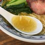 まるえ食堂 - 貝の旨みが詰まったスープ