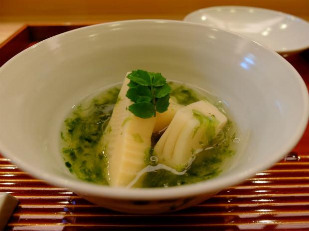 味 ふくしま - 京都大枝塚原の筍と青海苔