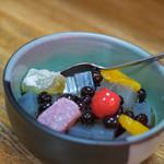 梅むら - 蜜豆(みつまめ)