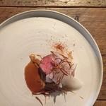 ビストロ ロジウラ - 大雪さんろく笹豚 キャベツ 味噌 牛蒡