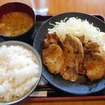 66416615 - しょうが焼き定食¥680-