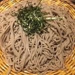 そじ坊 - 料理写真:ホークスの聖地deざる蕎麦( ´∀`)☆★★☆2枚分
