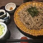 そじ坊 - ざる蕎麦( ´∀`)結構美味しい