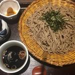 そじ坊 - ざる蕎麦( ´∀`)2枚分