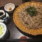 そじ坊 - ざる蕎麦( ´∀`)