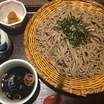 そじ坊 - ざる蕎麦( ´∀`)☆★★☆