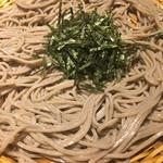 そじ坊 - ざる蕎麦( ´∀`)1枚