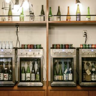 ◆業界初◆日本酒サーバー完備で料理に合う日本酒をご用意!!!