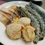 焼肉亀家 - 海鮮盛り合わせ