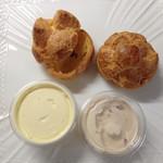 イル ビニェ - 料理写真:シュークリーム&いちごシュークリーム