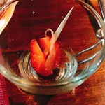 Manuel Cozinha Portuguesa - 苺と生ハム