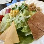 レストラン アヴァン - サラダ