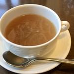 レストラン アヴァン - オニオンスープ