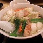 Manshinsaikan - 海鮮麺(2017.4)