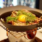 つるとんたん UDON NOODLE Brasserie - 国産牛焼きすき