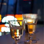 つるとんたん UDON NOODLE Brasserie - 食前酒は梅酒